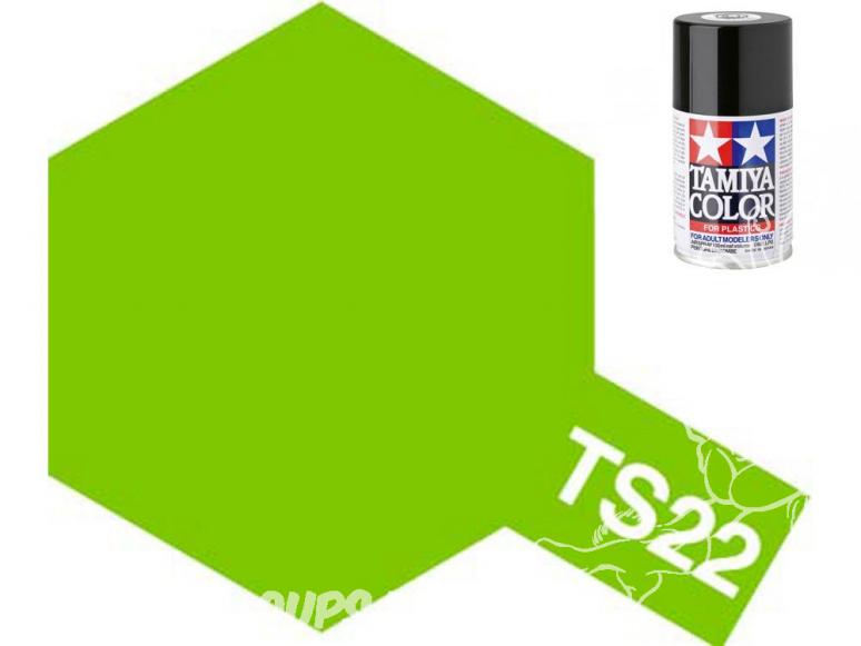 peinture maquette tamiya bombe ts22 vert clair