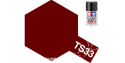 peinture maquette tamiya bombe ts33 rouge terne mat