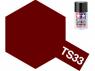 peinture maquette tamiya bombe ts33 rouge terne mat