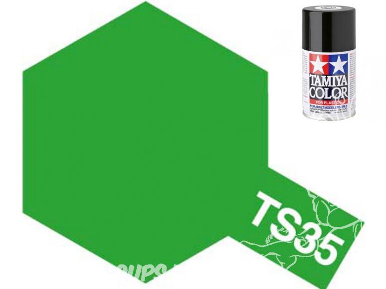 peinture maquette tamiya bombe ts35 vert herbe
