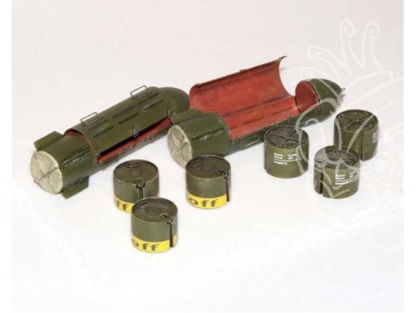 Plus Model 394 CONTENEURS DE RAVITAILLEMENT ALLEMANDS 1/35