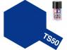 peinture maquette tamiya bombe ts50 bleu mica metal