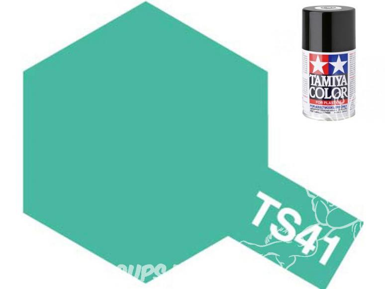 peinture maquette tamiya bombe ts41 bleu corail