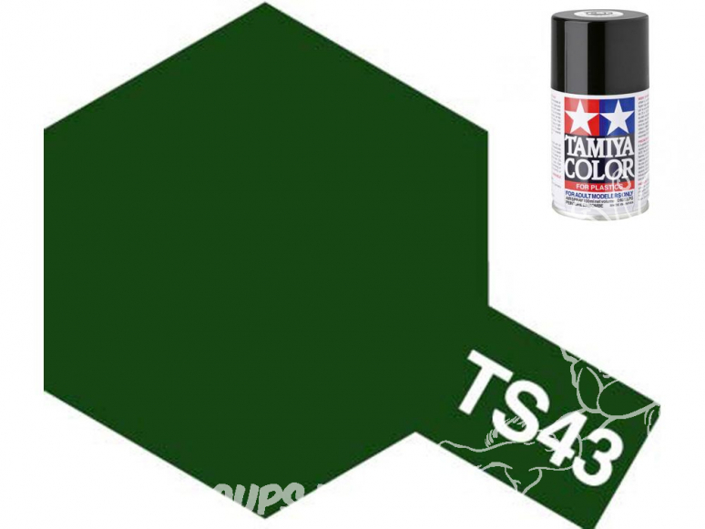 peinture maquette tamiya bombe ts43 vert racing
