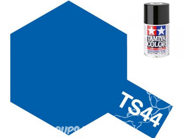 peinture maquette tamiya bombe ts44 bleu brillant