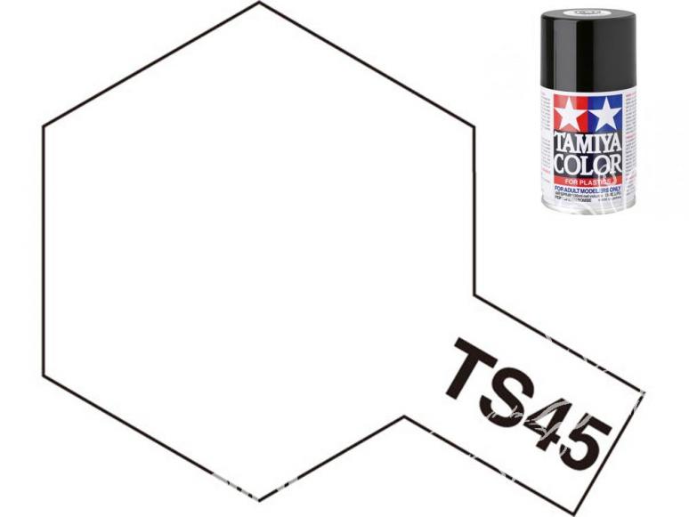 peinture maquette tamiya bombe ts45 blanc perle