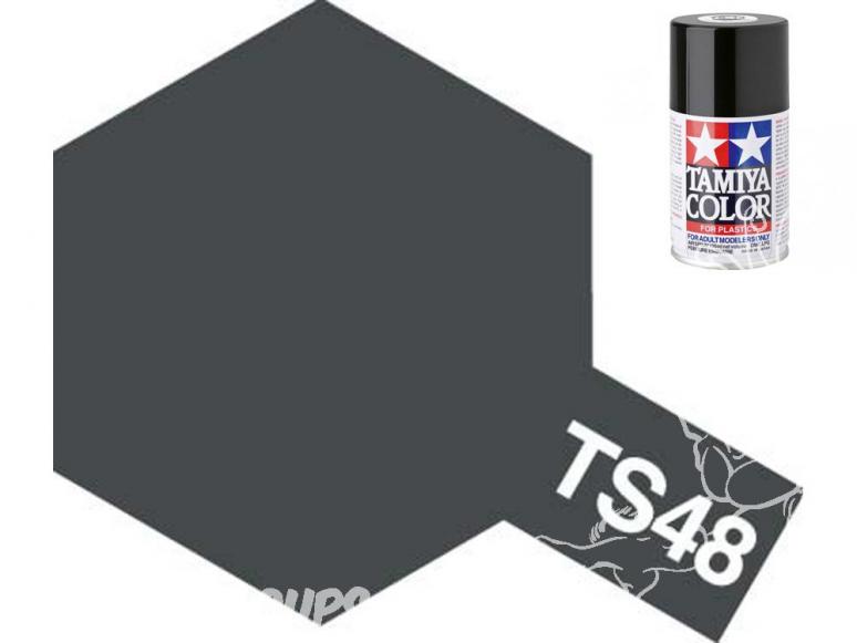 peinture maquette tamiya bombe ts48 gris bateau