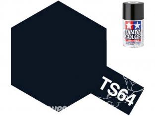 peinture maquette tamiya bombe ts64 bleu mica foncé brillant