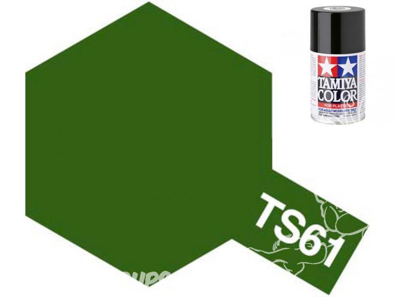 peinture maquette tamiya bombe ts61 vert nato