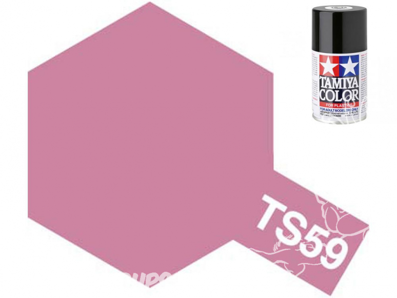 peinture maquette tamiya bombe ts59 rouge perle clair