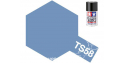 peinture maquette tamiya bombe ts58 bleu perle clair brillant