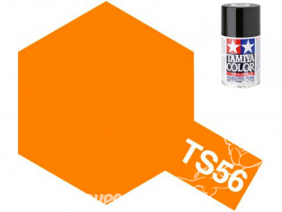 peinture maquette tamiya bombe ts56 orange brillant