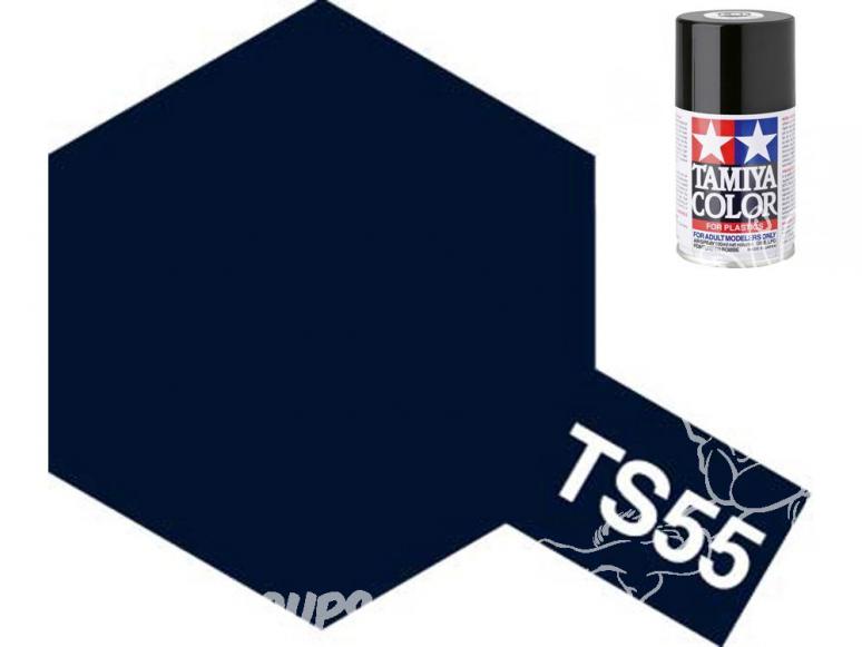 peinture maquette tamiya bombe ts55 bleu foncé