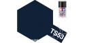 peinture maquette tamiya bombe ts53 bleu metal brillant