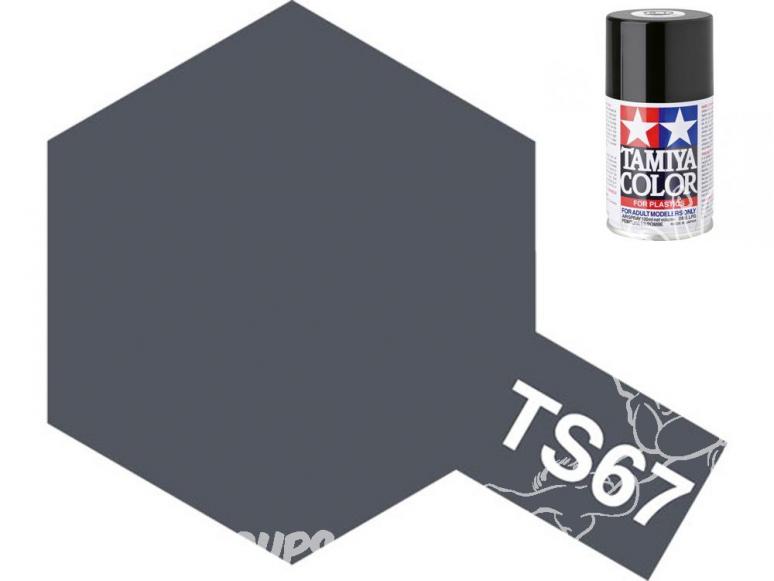 peinture maquette tamiya bombe ts67 gris marine jap