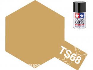 peinture maquette tamiya bombe ts68 bois clair mat