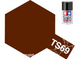 peinture maquette tamiya bombe ts69 brun Linoleum Pont mat