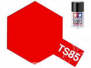 peinture maquette TAMIYA bombe ts85 Rouge mica vif