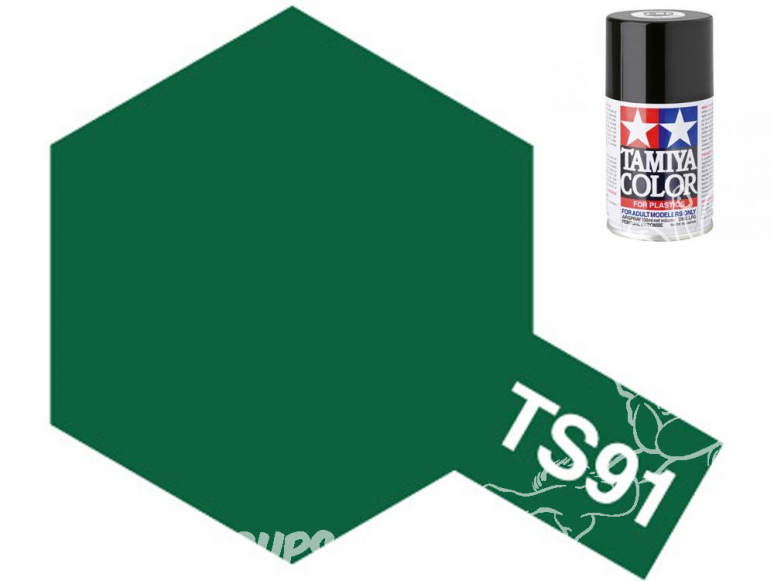 Peinture maquette tamiya bombe ts91 Vert foncé (JGSDF)