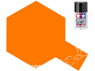 peinture maquette TAMIYA bombe TS92 Orange Métallisé brillant