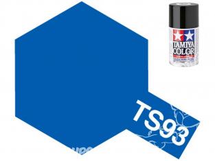 PEINTURE MAQUETTE TAMIYA BOMBE TS93 Bleu Pur brillant