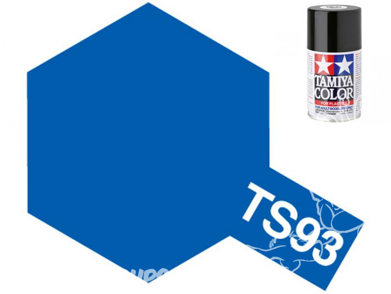 PEINTURE MAQUETTE TAMIYA BOMBE TS93 Bleu Pur