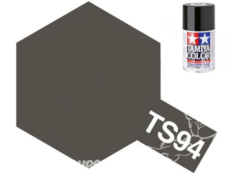 PEINTURE MAQUETTE TAMIYA BOMBE TS94 Gris Métal