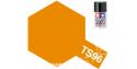 Peinture maquette tamiya bombe ts96 Orange Fluo Honda Repsol brillant