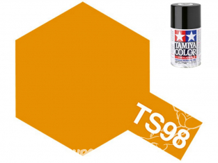Peinture maquette tamiya bombe ts98 Orange pure brillant
