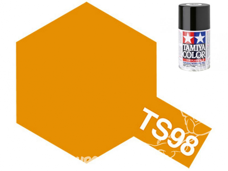 Peinture maquette tamiya bombe ts98 Orange pure
