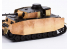 Eduard photodecoupe militaire 36383 Blindage - Schurzen Panzer IV Ausf. H Academy 1/35