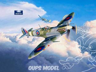Revell maquette avion 63897 Model Set Supermarine Spitfire Mk.Vb 1/72