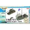 CMK Maquettes Bateau n72004 KIT EXTERIEUR U-BOAT 1/72