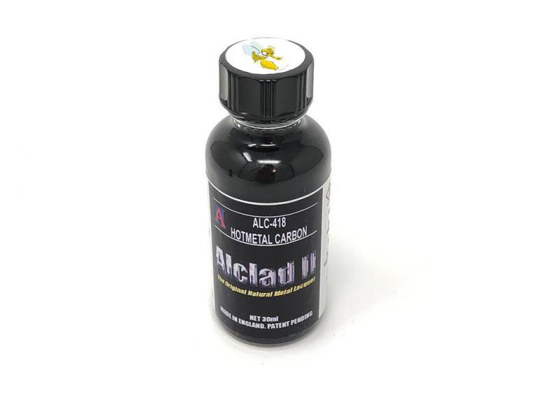 peinture ALCLAD II alc418 Carbone hot métal