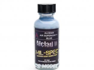 Peinture enamel Alclad II Mil-Spec ALCE608 Utilisation a l'aérographe bleu royal 30ml