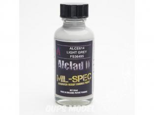 Peinture enamel Alclad II Mil-Spec ALCE614 Utilisation a l'aérographe gris clair russe fs36495 30ml