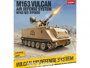 Academy maquettes militaire 13507 M163 Vulcan Air Defence System 1/35