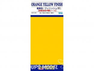 HASEGAWA TF13 PLAQUE FINITION Orange 90x200mm