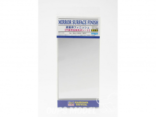 HASEGAWA TF927 PLAQUE FINITION Adhesive effet mirroir 90x200mm
