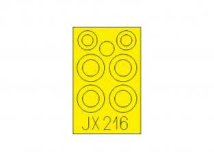 Eduard Express Mask JX216 FI 282 Kolibri Mini Art 1/35