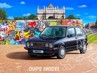 REVELL maquette voiture 05694 Coffret 35 ans de la Golf 1 GTI Pirelli + Colle peintures 1/24