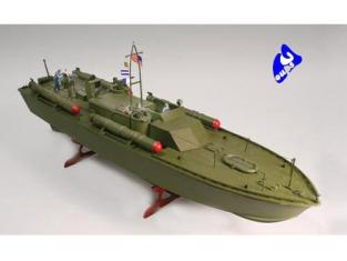 Lindberg maquette bateau 70886 PT 109 1/64