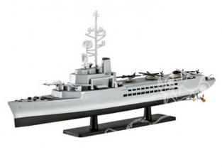 Revell maquette bateau 05896 Jeanne d&39Arc porte-hélicoptères 1/1200