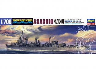 Hasegawa maquette bateau 49463 Destroyer Asashio 1/700