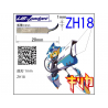 Oups ZH18 Lame incurvée 1mm pour Cutter à Ultrasons