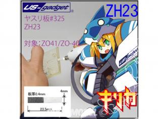 Oups ZH23 Lame à meuler diamant 325 4mm pour Cutter à Ultrasons