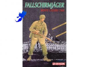 DRAGON maquette militaire 1603 Fallschirmjäger 1/16