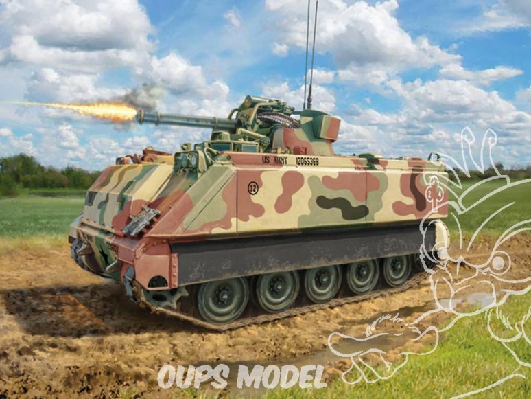 Italeri maquette militaire 6560 M163 VADS - Vulcan Air Defence System 1/35