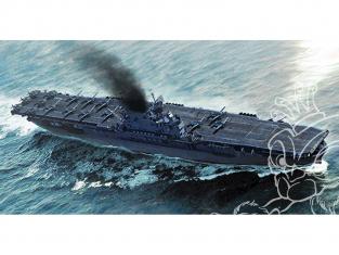 TRUMPETER maquette bateau 06708 USS Enterprise CV-6 1/700