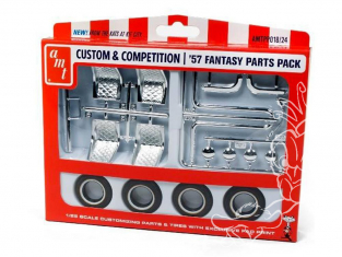 AMT maquette voiture PP018 Parts de pieces Custom et Fantaisie 1957 1/25